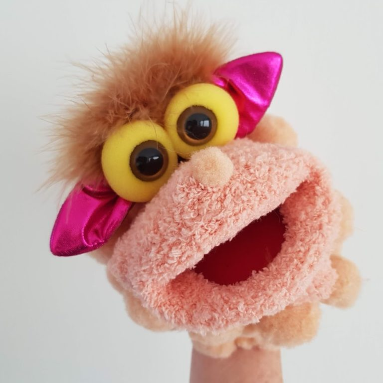 little lamb sock puppet by Boobalach